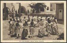 Spain Postcard Las Palmas Bailes Tipicos Canarios Dancing