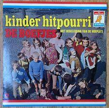 DE BOEFJES MET BEGLEIDING VAN DE HOEPLA'S Kinder hitpourri LP/DUTCH