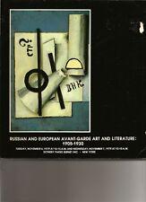 SOTHEBY'S Russian Avant-Garde Gabo Picabia Porcelain Auction Catalog 1979