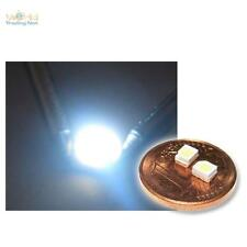 "50 SMD LED ultra-blanco Sop - 2 3528, blanca tipo ""wtn-sop 2-1300 UW"" White Blanc SMT"