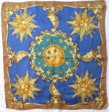 Magnifique foulard en soie LANCEL Paris 90 cm x 90 cm scarf *