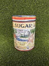 Matthew Rice Vintage Sugar Tin Jar Storage 2006 Emma Bridgewater Designer