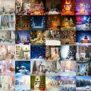 Christmas Photography Backdrops Photo Xmas Retro Plank Background Props Decor