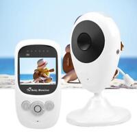 "Wireless Digital 2.4"" LCD HD Baby Monitor Camera Night Vision Audio Video 2.4GHz"