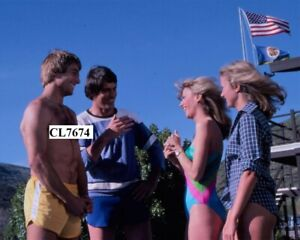 Mark Harmon, John Bennett Perry, Sandie Newton, Susan McDonald in '240-Robert'