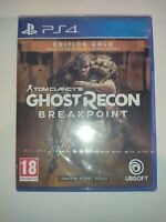 ghost recon breakpoint break point édition gold jeu ps4 playstation 4 ps 4 neuf