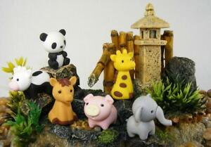 Novelty IWAKO Japanese Puzzle Eraser Rubbers - IWAKO Zoo Animal Erasers