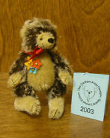 DEB CANHAM Artist Designs LITTLE PRICKLES. Special Limited Edition HEDGEHOG 3.5""
