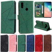 Luxury Wallet Leather Flip Case Cover For Huawei P40 P30 Lite Y7 2019 P Smart Z