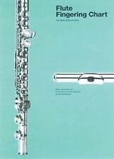 Flute Fingering Chart (Amsco Fingering Charts) by Murphy, Brenda
