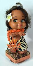 "10"" Vintage 1971 Hula Hawaii Girl Doll Lanakila Crafts ""For You A Lei"""