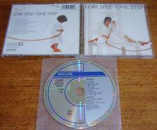 LORI SPEE One Step CD 1986 10trk Philips W. Germany