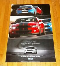 "RARE BRAND NEW 2014 FORD MUSTANG SHELBY GT500 24"" x 36"" DEALER ONLY POSTER!"