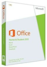 Microsoft Office Home and Student 2013 PKC 79G-03550 For Win10/8/7 Brand New