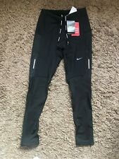 14e6ed4ea4b04 Nike Mens Dri Fit Stretchy Running Training Trousers (Black) Size Small -  BNWT