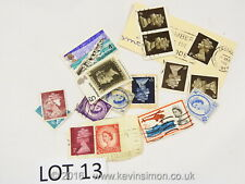 Used Mixed Kiloware Stamps UK / GB Collection Lot13