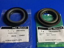 GENUINE MG ROVER  GEARBOX TO DRIVE SHAFT  SEAL SET TRX000010 + UNG100060