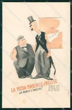WW2 WWII Propaganda anti Bristish Inglese Italo PIEGHINA cartolina XF6330