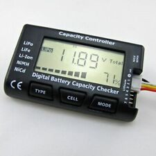 Digital Battery Capacity Checker Cell Meter Tester For LiPo LiFe Li-ion RC Car
