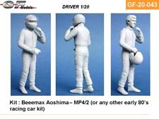 1:20 Alain Prost at McLaren figure kit with decal set by GF Models