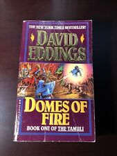 David Eddings DOMES OF FIRE Book 1 THE TAMULI Paperback PB Fantasy Novel 1st NYT