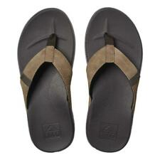 Reef NEW Men's Cushion Bounce Phantom Flip Flops - Brown / Tan BNWT