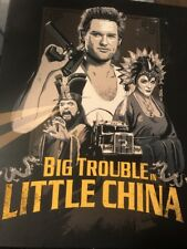 Big Trouble in Little China (Blu-ray) Limited Edition Slipcover NEW