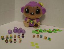 Squinkies Jungle Surprise Monkey Dispenser Animals Vine Coins Bubbles Blip Toys