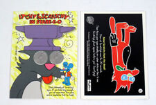 1994 Skybox The Simpsons Series 2 Promo Card (P2) Itchy & Scratchy Nm/Mt