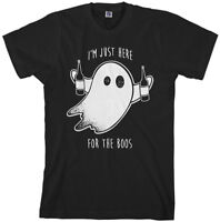 I'm Just Here For The Boos Men's T-Shirt Halloween Drinking