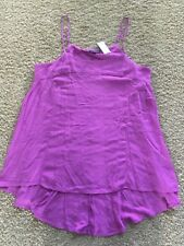 The Limited Pink Swing Tank Top Sz Medium $44.95 Online Exclusive NEW NWT