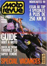MOTO REVUE 2906 HONDA RC 30 YAMAHA FZR 1000 SUZUKI 1100 GSX-R KAWASAKI ZXR 750