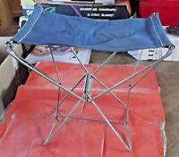 Antique Chaise Siège Pliant Camping Scoutisme Pêche chasse plage randonnée