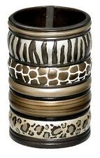 Popular Bath Safari Stripes Bath Collection - Bathroom Tooth Brush Holder