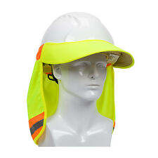 NEW PIP 396-800-YEL EZ-Cool Hard Hat Visor Elastic Back Reflective Tape HiVis