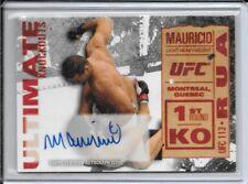 2013 Topps UFC Knockout Mauricio Rua Ultimate knockouts Autograph # 13/25 Auto