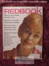 REDBOOK April 1962 JACK PAAR LEONARD GROSS ANNE SAYRE +