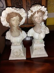 Pair of figurine Heads