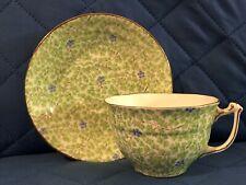 Sampson Smith Old Royal Bone China Tea Cup & Saucer Set