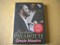 Luciano Pavarotti Grazie maestroDVDMusicabiografia Lingua:italiano, inglese