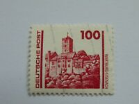 DDR 100 Pfennig(.) Freimarke 1990 mit Plattenfehler Mi 3350 III