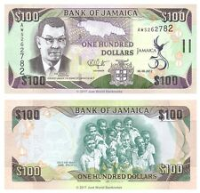 Jamaica 100 Dollars 2012 Commemorative P-90 Banknotes UNC