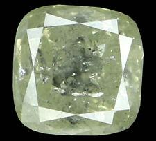Natural Loose Diamond Grey Color Cushion I1 Clarity 5.20 MM 1.06 Ct L4244