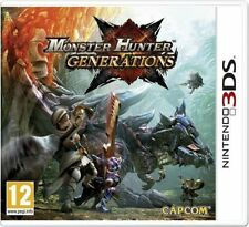 Nintendo 3ds Game Monster Hunter Generations