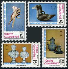 Turkey 2254-2257, MI 2636-2639, MNH. Art Exhibition, 1983