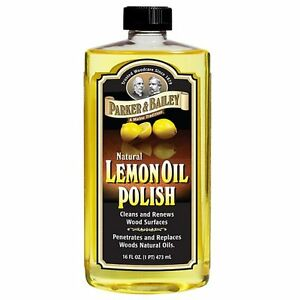Parker & Bailey Natural 16oz Lemon Oil Guitar Rosewood Fretboard Cleaner Polish