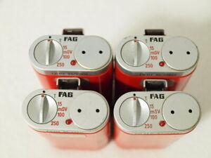 1x Dosimeter FH41F Dosiswarngerät FAG ** Strahlenmessgerät  FH 41 F Geigerzähler