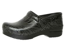 DANSKO  Professional Black Tooled Leather Shoes 2103 Size 37 EUR