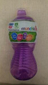 Munchkin Mighty Grip Flip Straw Cup Spill Proof & Leak Proof