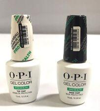 OPI Gel Color Pro Health Top Coat & Base Coat Duo Set 100% Authentic